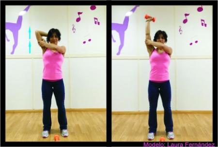 Entrenamiento triceps casa