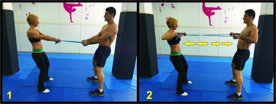 ejercicios con gomas 1