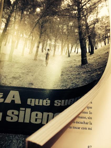 a que suena el silencio, el libro