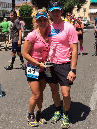 equipo rosa, crónica de unas carrera correrporquesi
