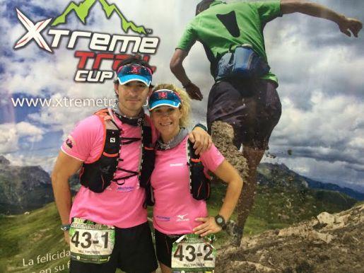 equipo rosa, Xtreme Trail Cup Málaga correrporquesi